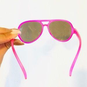 KIDS Hot Pink Aviators OS